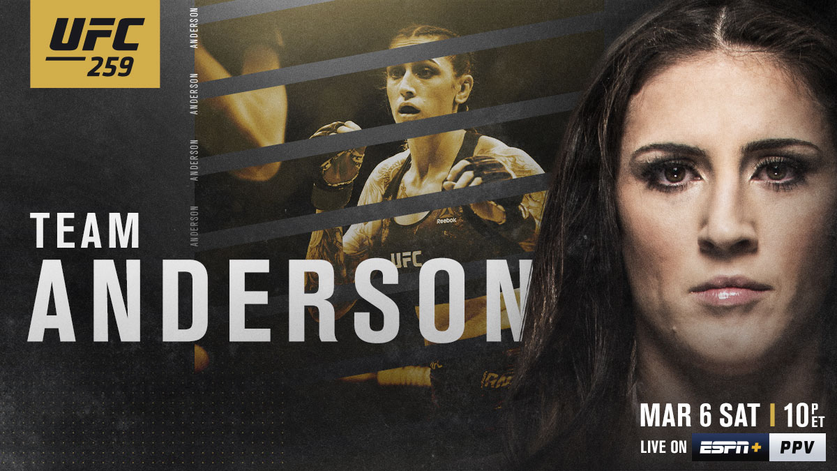 Power to alter the division 💥  RT if you're w/ 🇦🇺 @MeganA_MMA at #UFC259   [ LIVE on #ESPNPlus PPV:  ]