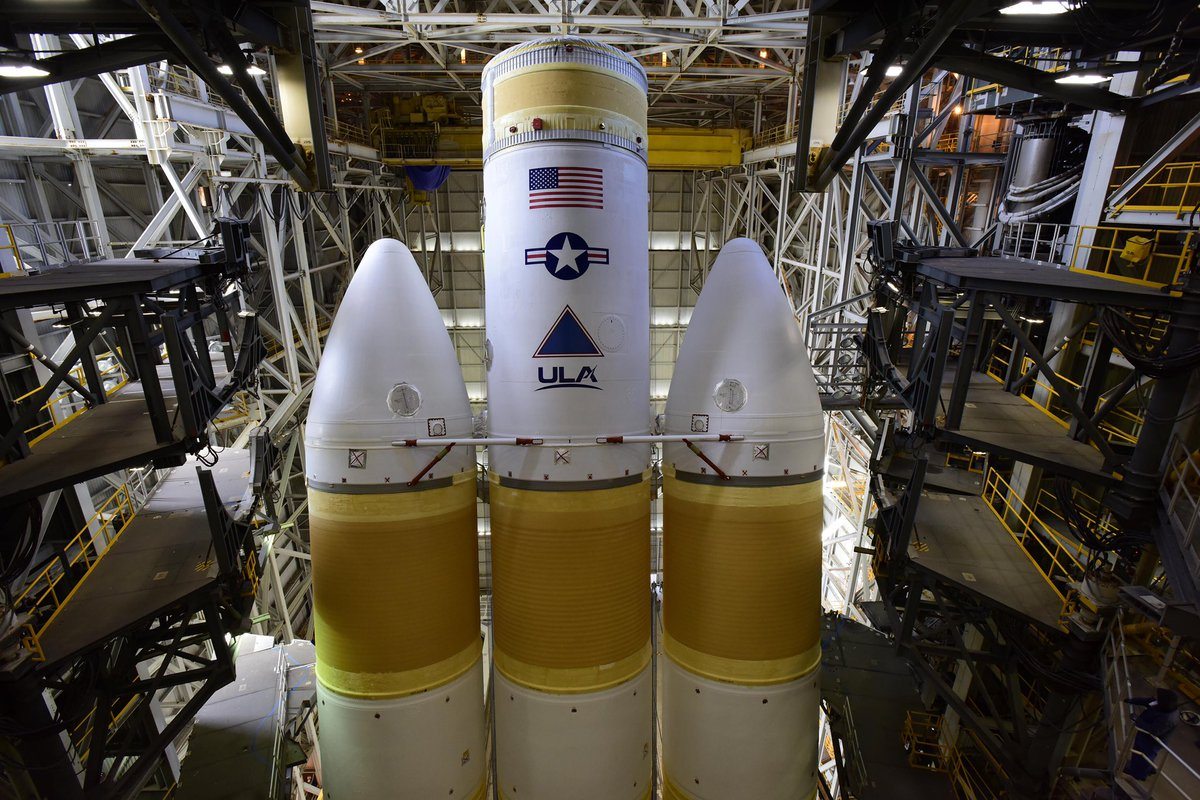 He was already of course! Can't wait to see Delta IV Heavy fly again in late spring!