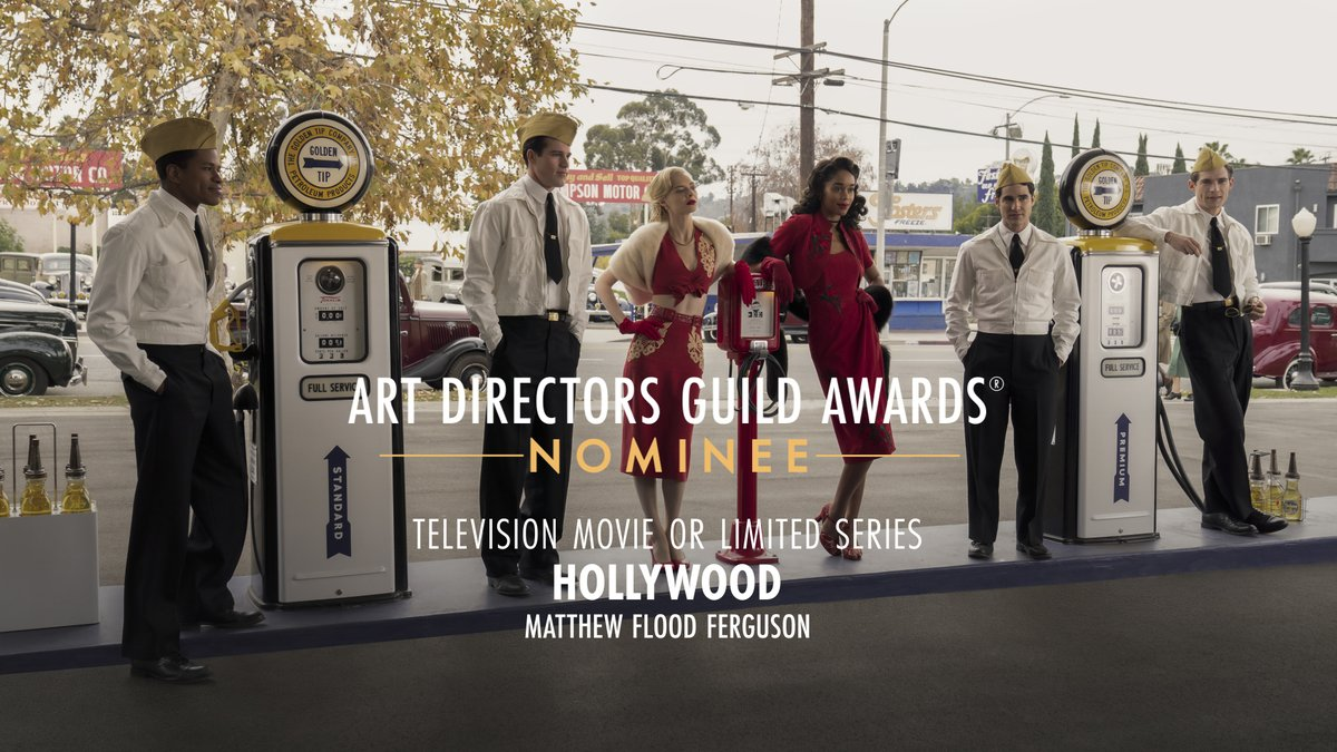 .@hollywoodnetflx is nominated for Television Movie or Limited Series at the 25th Annual ADG Awards!