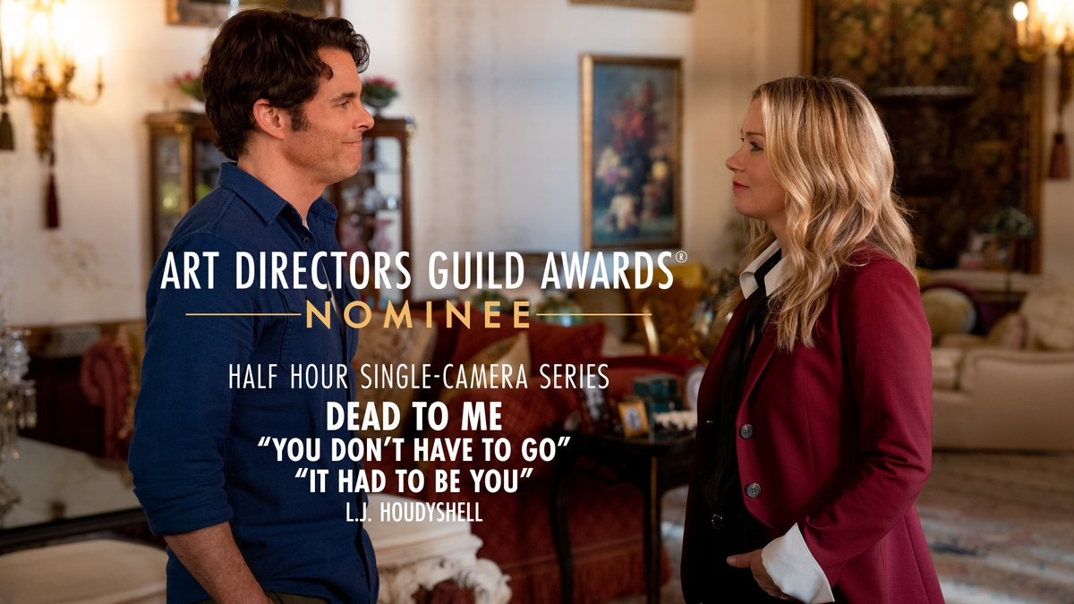 .@deadtome is nominated for Half Hour Single-Camera Series at the 25th Annual ADG Awards!