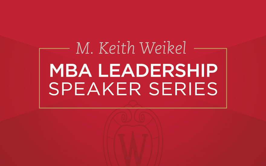 From U.S. Marines Sergeant to CEO of @TeamRubicon, WSB alum @JakeWoodTR  (BBA '05) shares his perspective on #leadership during the virtual M. Keith Weikel Leadership Speaker Series.  🎥 ICYMI, watch/read about Wood's conversation with @DeanSamba here: