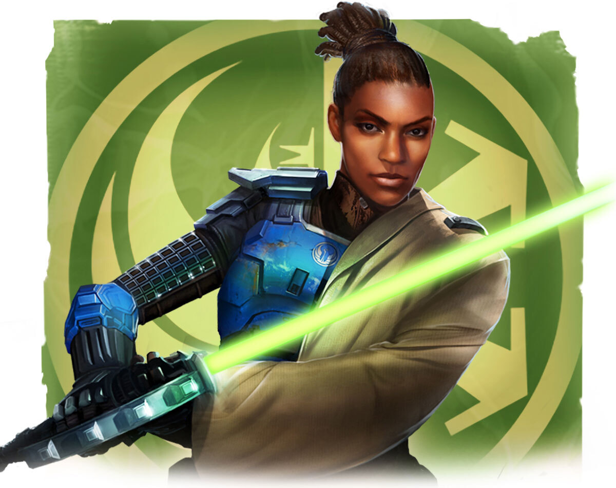 test Twitter Media - Did you earn Tau Idair's Steam Trading card yet? Her natural aptitude for lightsaber fighting techniques and knowledge of this weapon made her a great recruit of the Jedi colony on Ossus. https://t.co/7Ytl9ljQOi
