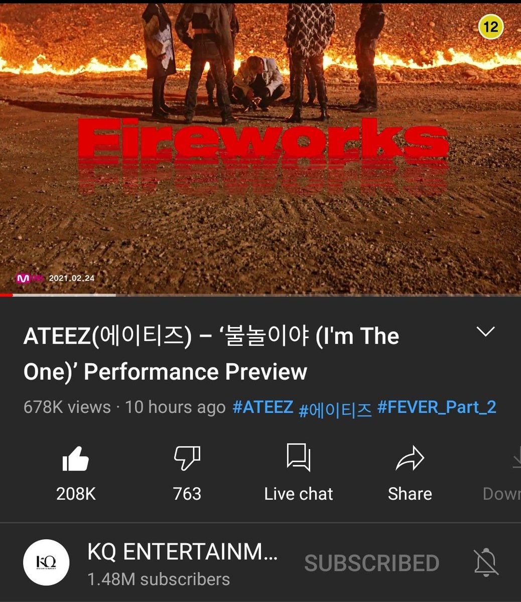 The difference in numbers😘😘😘 @ATEEZofficial #ATEEZ #ATEEZPREVIEW #KINGTEEZ #ATEEZIsComing @kqent #ATEEZTOTHETOP