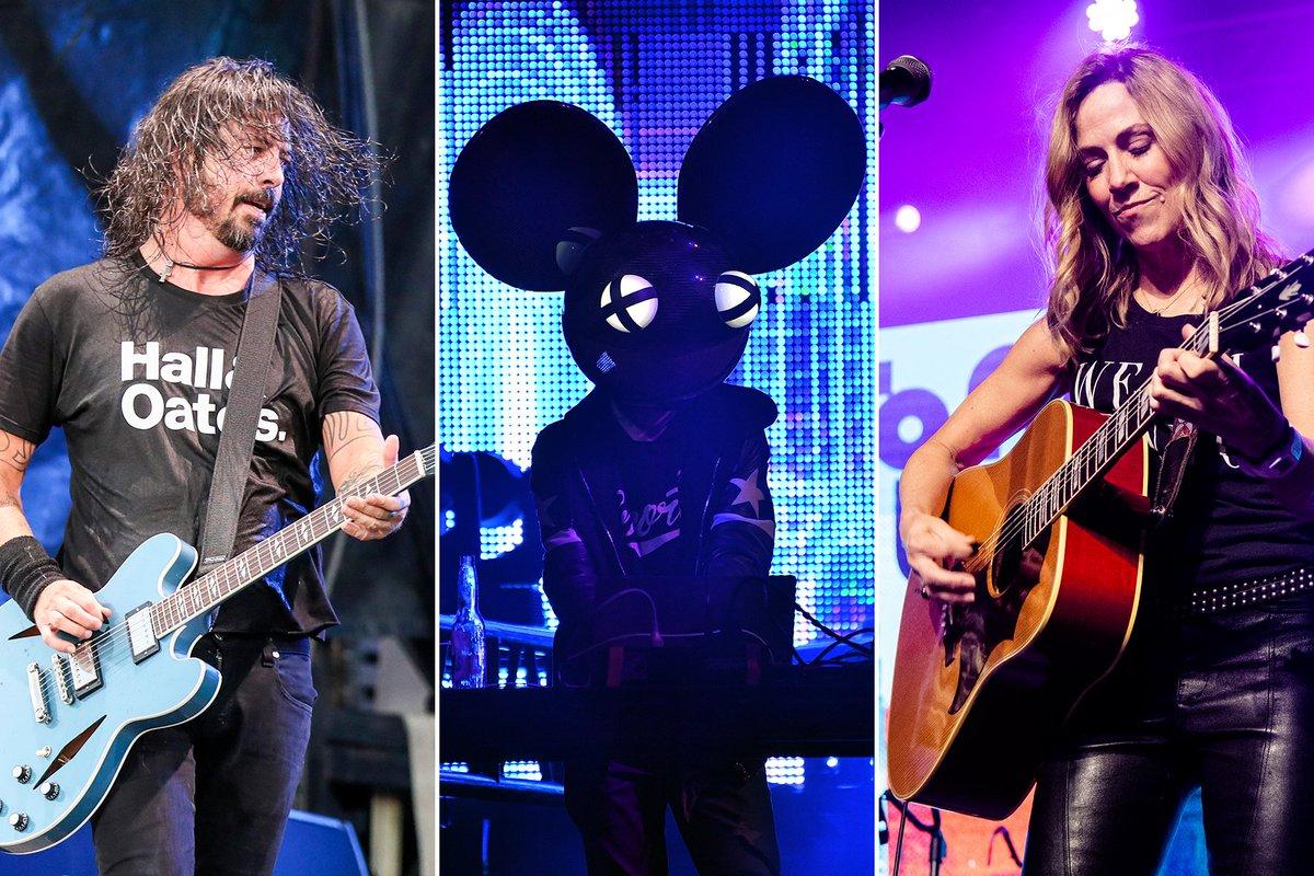 Rock 'N' Relief Live Stream: Foo Fighters, Deadmau5, Sheryl Crow to Lead Benefit  #music #musicnews