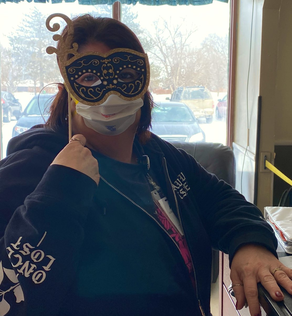 Part 1 of 2:   We had a great time celebrating Mardi Gras at #AzriaHealthCentralCity!   #AzriaHealth #MardiGras #Masks #Celebrate #Festive #FatTuesday