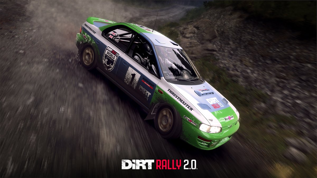 This Saturday our #DiRTRally 2.0 World Series finalists will be retracing Colin McRae's glory run in the legendary 1995 SUBARU Impreza.  📺 Stream links & Info: