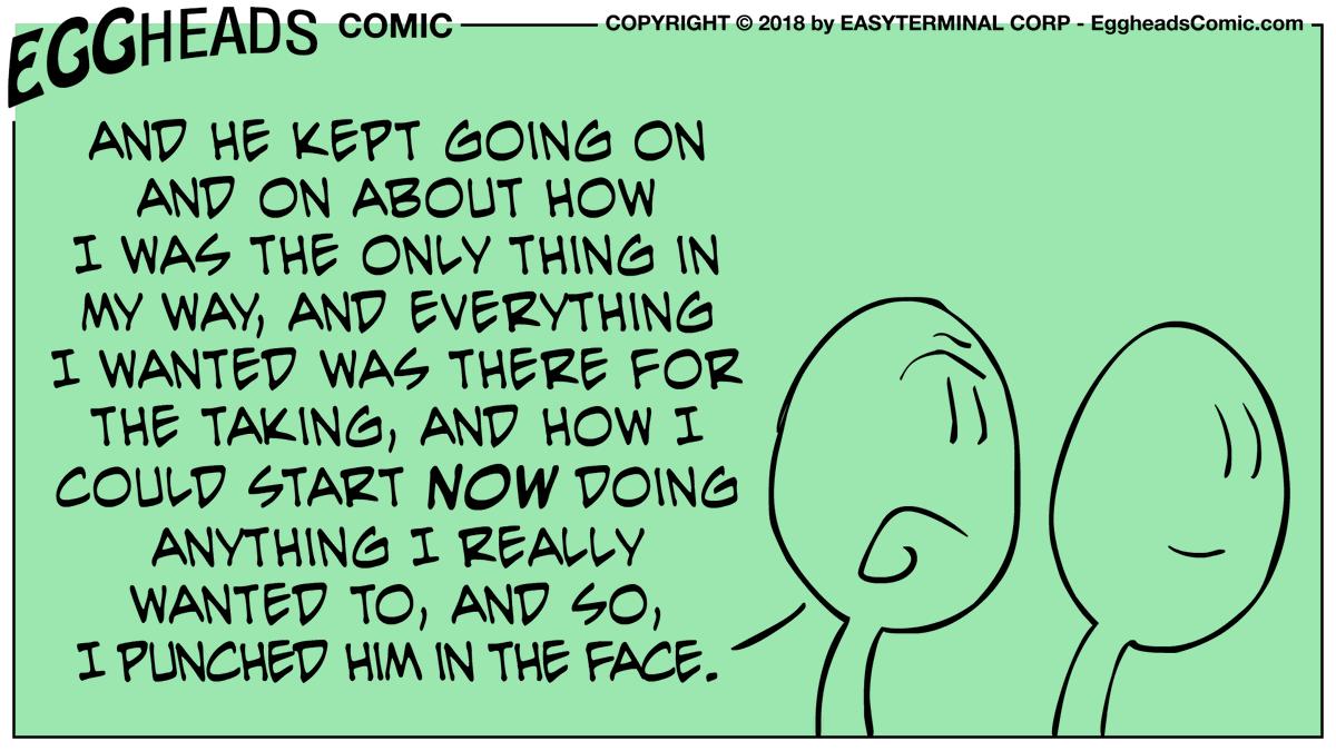 💥#Funny #lol #Comics #eggheadscomic #humor #OpportunityKnocks #follow 👈