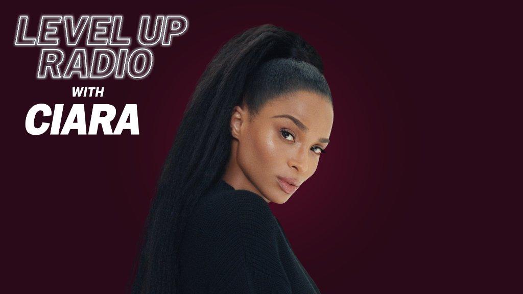 .@ciara celebrates #BlackHistoryMonth on a new episode of #LevelUpRadio.  Tune-in on Apple Music Hits:
