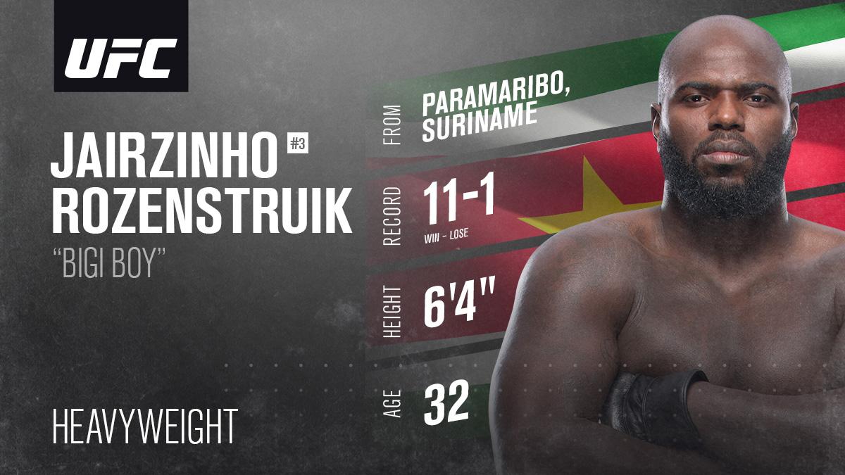 Replying to @JairRozenstruik: Fighting out of #Paramaribo #Suriname! 💪🇸🇷 #UFCVegas