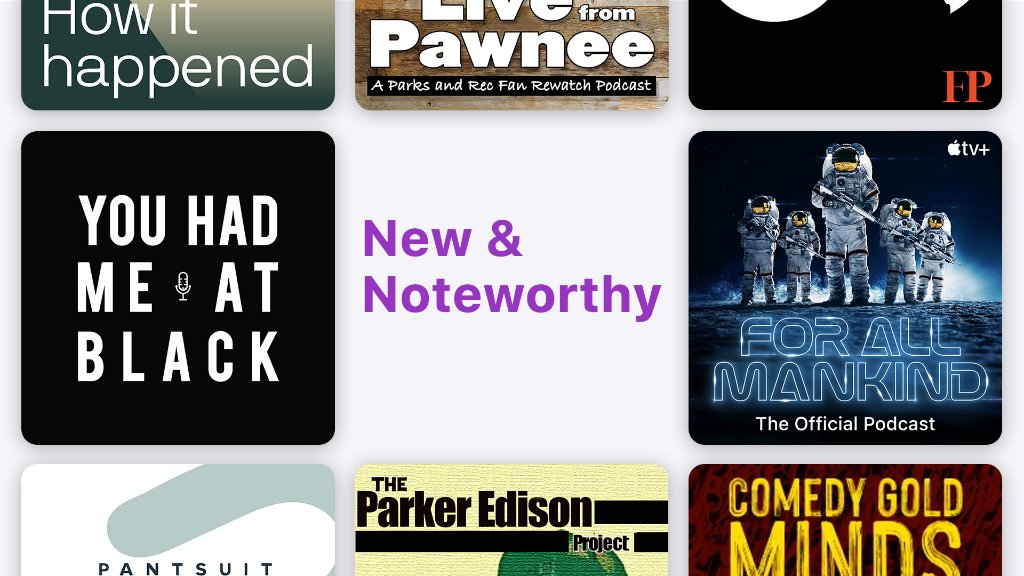New and noteworthy this week: - Hear true-life stories from Black Millennials on @youhadmeatblack - Follow the space race on the new @forallmankind_ podcast - Listen to grace-filled political conversations on Apple Podcasts Spotlight @PantsuitPolitic