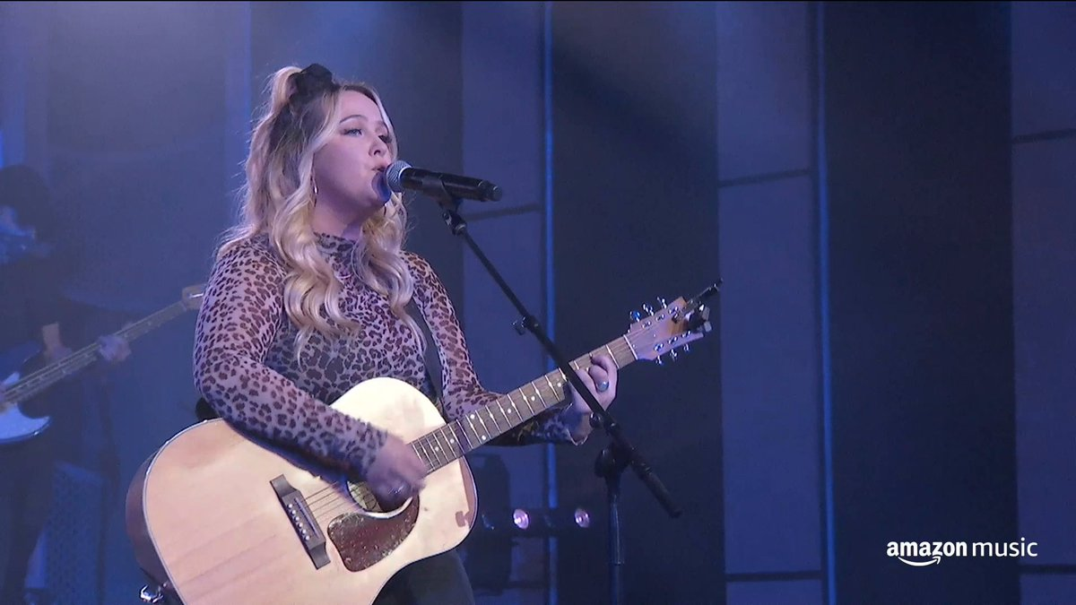 "Catch @priscillablock's exclusive performance of ""Just About Over You,"" recorded live from CRS!   Drop your fave Priscilla Block tune below 👇"