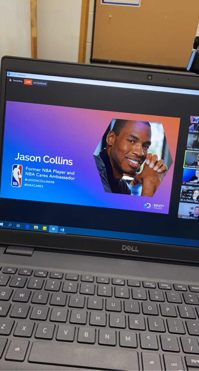 I'm so excited to sit on this Zoom meeting to hear from @jasoncollins98 about Equity in education. 🏳️‍🌈🏀❤️🧡💛💚💙💜🖤🤍🤎 #OutLoveHate #EquityInEducation @DiscoveryEd