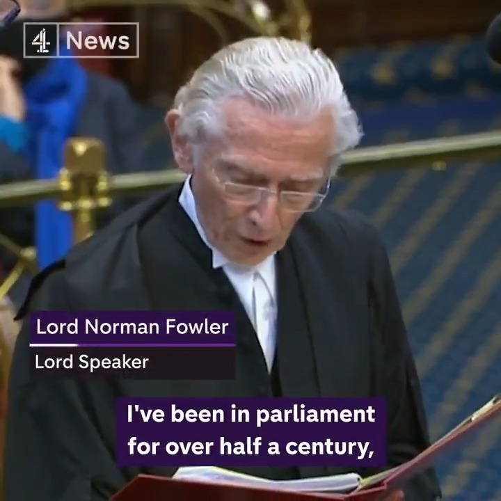 """I'm only 83, and unless I am careful I won't have time to start my next career."" Lord Fowler announces he will step down early as Lord Speaker so he can campaign on HIV/Aids."