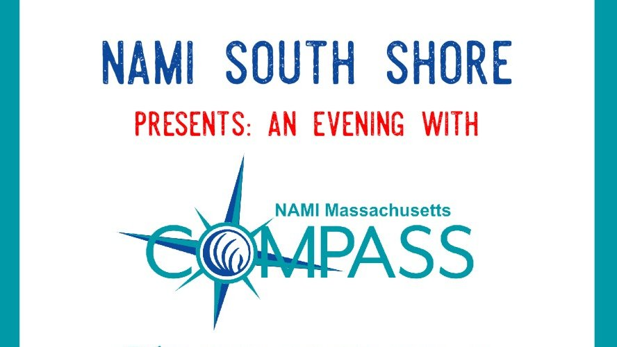 Don't forget to join us at 7 pm tonight for this #COMPASSHelpline Q & A, co-sponsored by #NAMISouthShore!