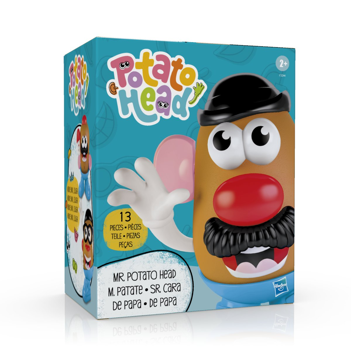 Hold that Tot – your main spud, MR. POTATO HEAD isn't going anywhere! While it was announced today that the POTATO HEAD brand name & logo are dropping the 'MR.' I yam proud to confirm that MR. & MRS. POTATO HEAD aren't going anywhere and will remain MR. & MRS. POTATO HEAD