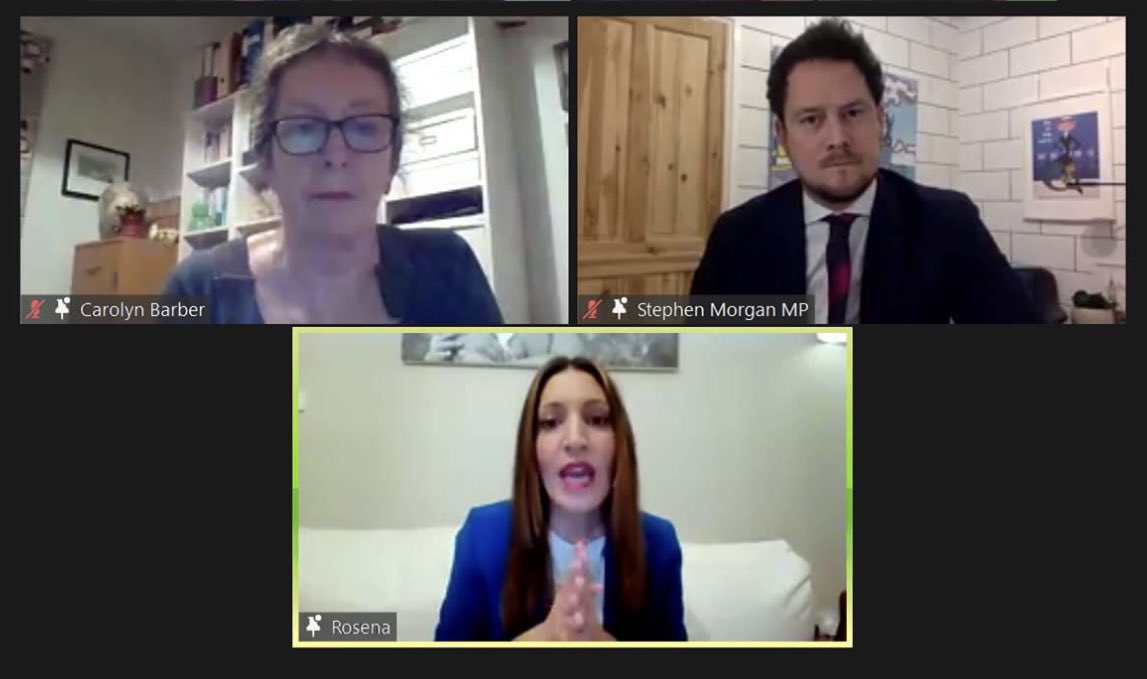 Mental health needs will continue long after the virus is under control. As the fantastic @DrRosena told us at our online event tonight, Government needs to take mental health seriously in its response to Covid-19