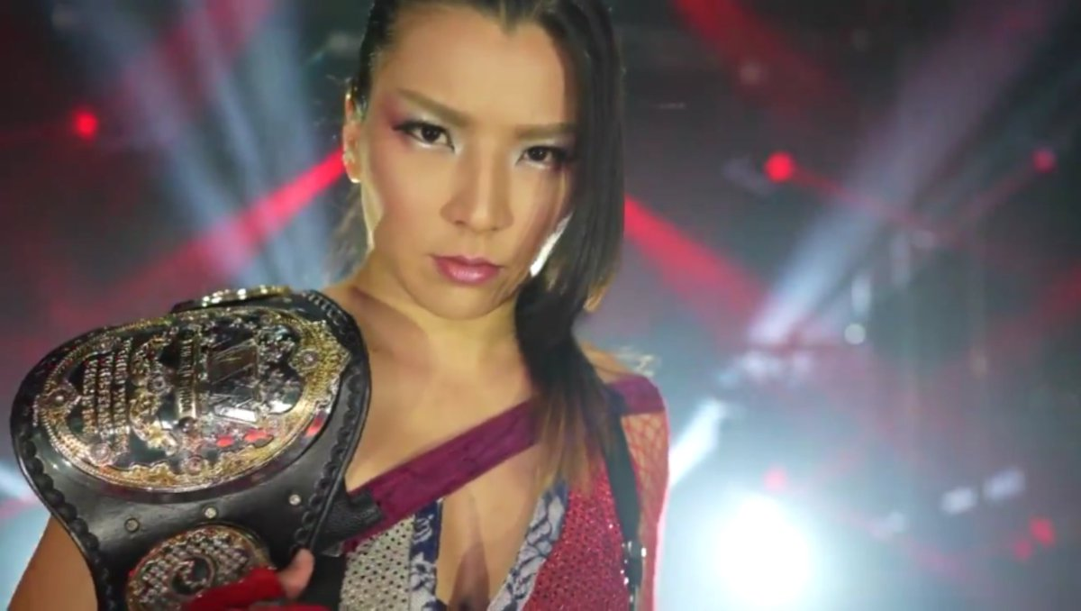At 278+ days, @shidahikaru has officially surpassed Jon Moxley as AEW's longest reigning champion.