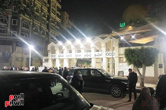 إقامة عزاء رجل الأعمال ياسين عجلان بالحامدية الشاذلية