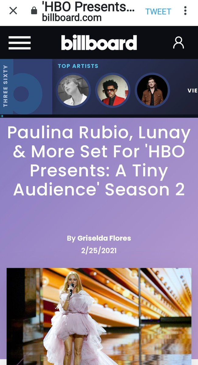 I hope this Show....@HBO presents second season of @ATinyAudience  in set to debut Friday, March 19 on @hbomax and @HBOLAT @PaulinaRubio Soon. 💛👱‍♀️👑💥💢❤#PaulinaRubio #queenoflatinpop #reinadelpoplatino #paupowers #superpowers #ChicaDorada #supergirl #goldengirl #likeforlike