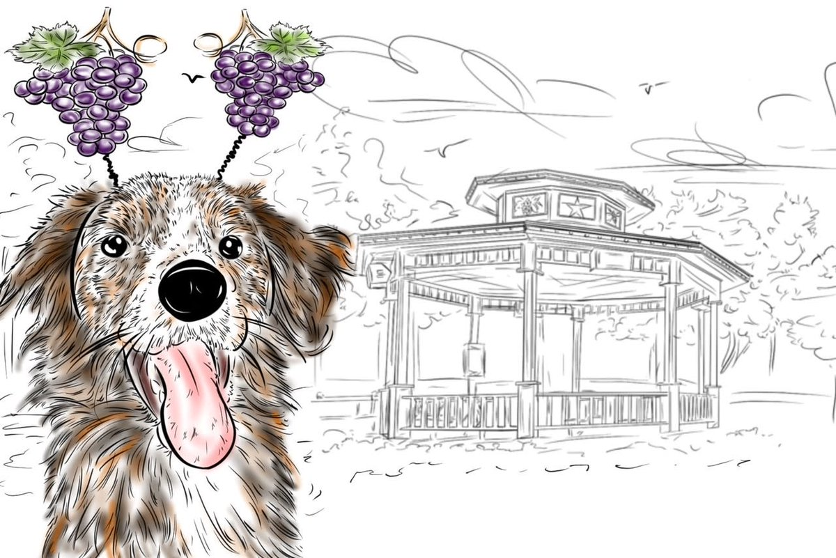 In honor of all adorable pets, Grapevine is celebrating #NationalLoveYourPetDay this Saturday, February 27 from 11 a.m.-2 p.m. at Town Square Gazebo. Show off your pet at this warmer weather re-do event for a complimentary illustration by the wildly talented @gonzotails!!!