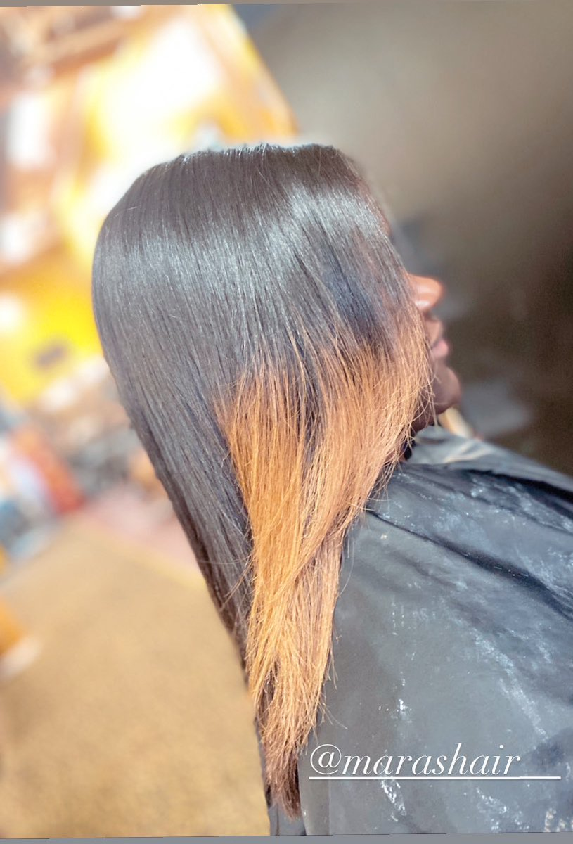 Silk Press, color & Trim ✨ Books are open for appointments! Link in bio   #hair #styles #booking #haircare #silkpress #natural #looks #color #trim #stylist #COSMETICS