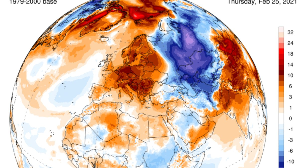 RT @EARTH3R: Unseasonable European Warmth Smashes All-Time February Temperature Records