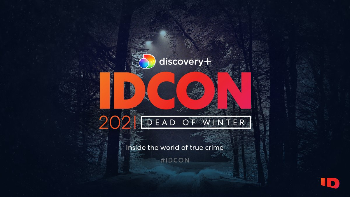 It's not too late to sign up for #IDCON: DEAD OF WINTER. Watch panels with true crime experts and discuss the cases you can't stop talking about from the comfort of your own home. IDCON streams February 27th at 4PM.  Sign up now: