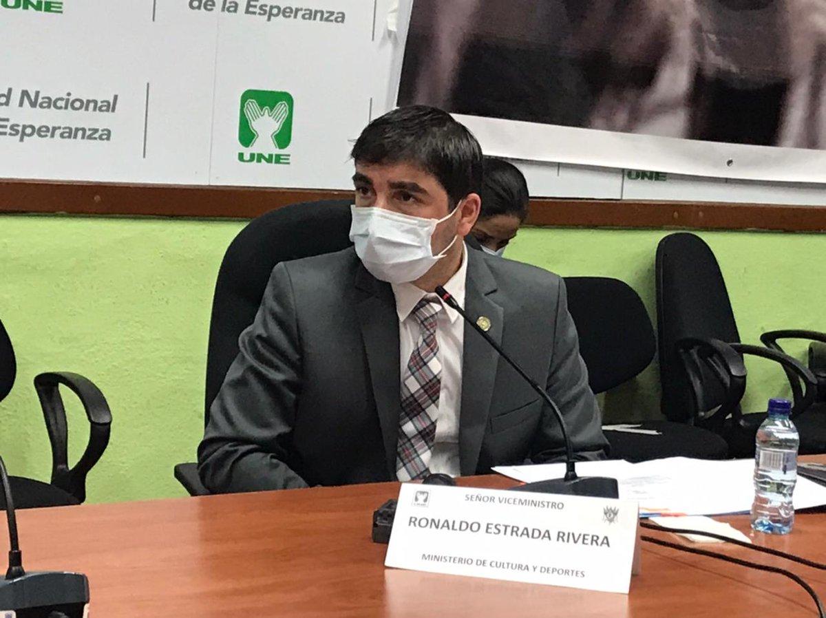 test Twitter Media - #AHORA Se confirma que el Viceministro de Recreación y Deportes, Ronald Estrada, presentó una carta en la que pidió separarse de sus funciones dos meses, mientras dura la investigación de la compra de pruebas falsas de Covid19. https://t.co/eJgi76t6mn