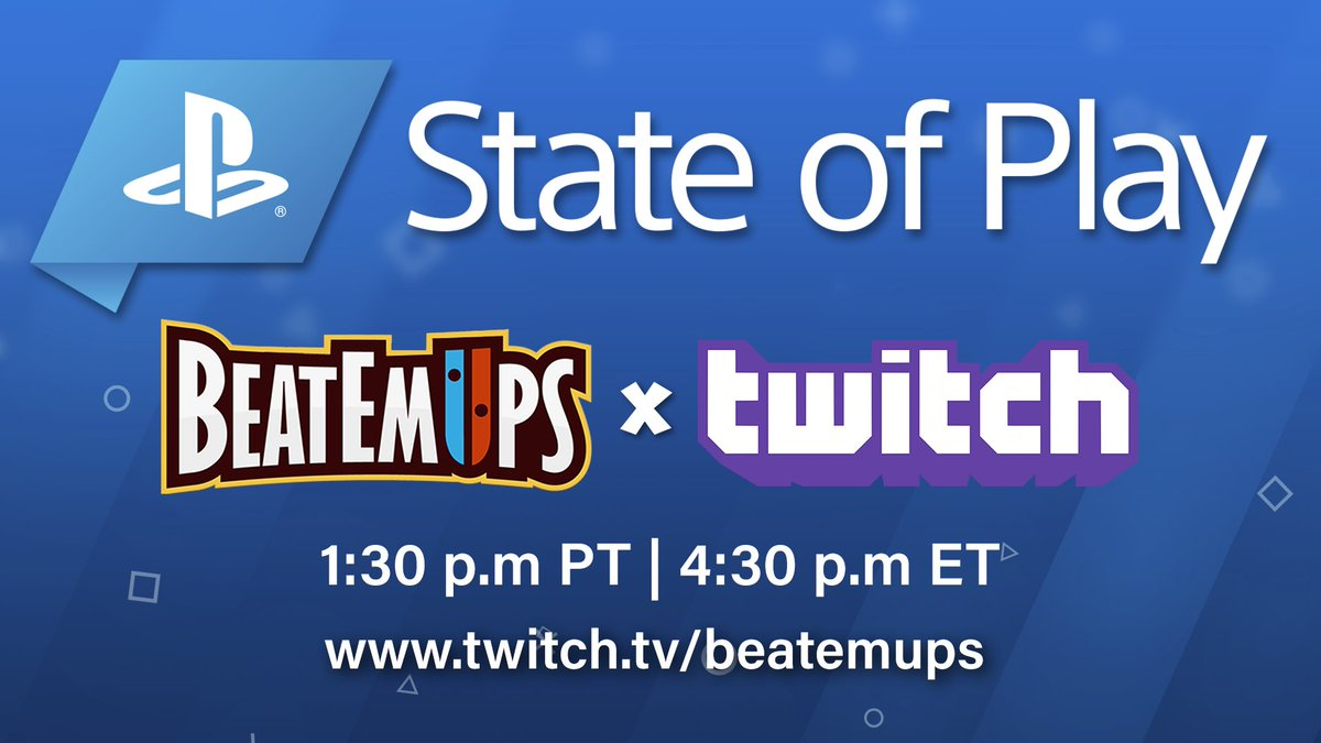 STATE OF PLAY! LIVE NOW -