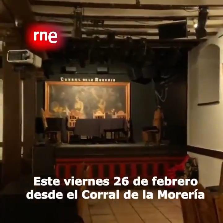 Image for the Tweet beginning: 💃 @ElOjoCriticoRNE estará este viernes