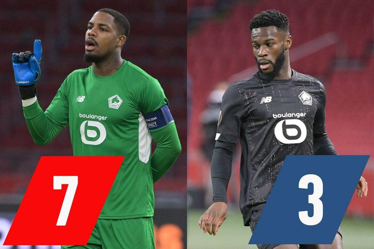 Les tops - flops d'Ajax - Lille : Maignan à nouveau brillant, Bamba encore transparent  #AJAXLOSC