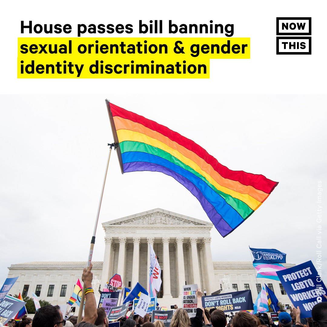 The House of Representatives has passed the Equality Act. The legislation would provide the most comprehensive LGBTQ+ protections in American history.