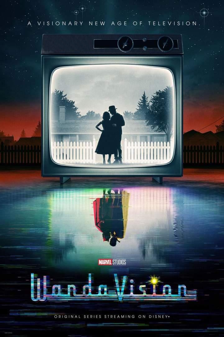 Nuevo póster de WandaVision 💥📺 Mañana nuevo episodio en Disney Plus.  #WandaVision #DisneyPlus #Wanda #Vision #Marvel #Cinestr3s