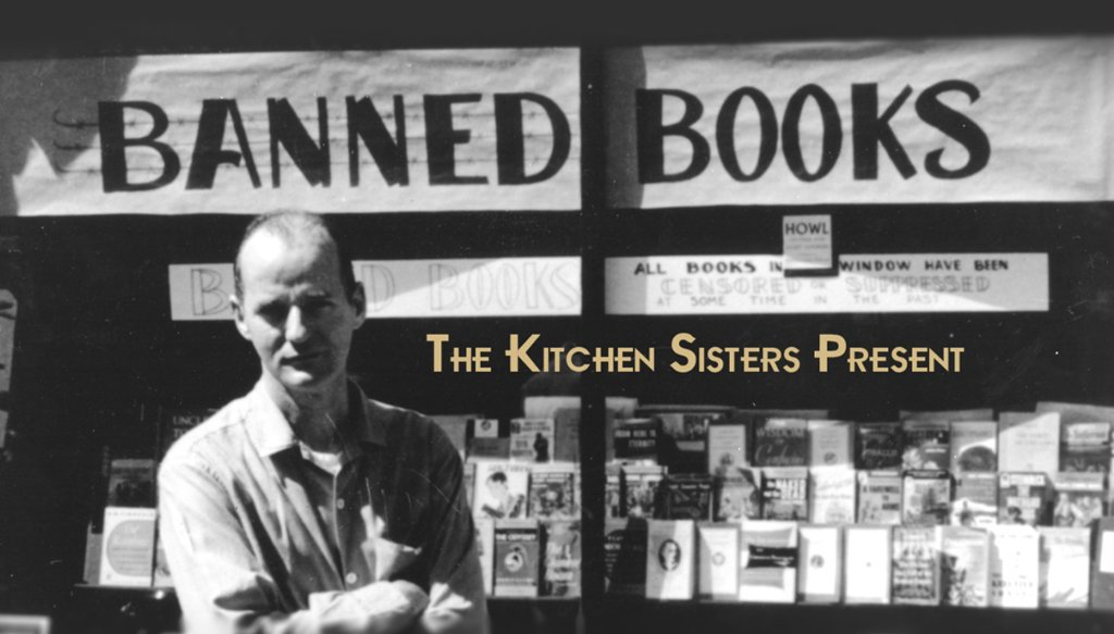 Look back on the life of poet and publisher Lawrence Ferlinghetti in this episode of The @kitchensisters Present.