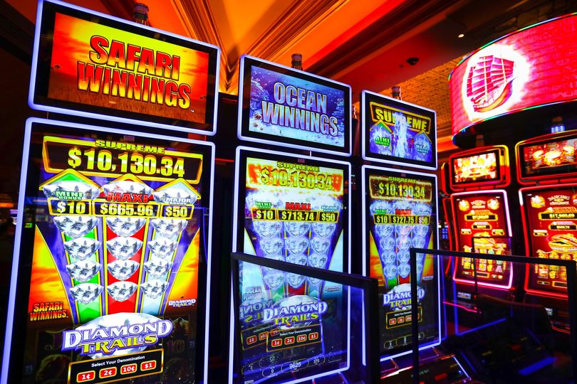Follow the path to riches with our Diamond Trails slots, featuring Safari Winnings and Ocean Winnings, located near Illusions and High Limits. 💎