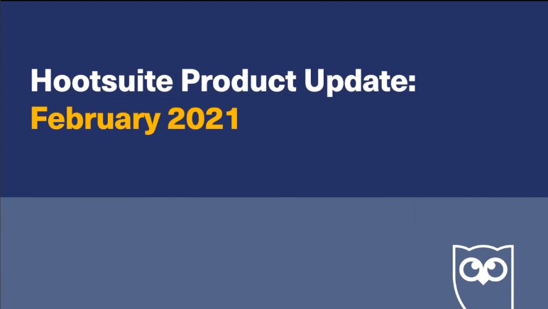 What's new with Hootsuite in February?  Customer metrics, competitor benchmarking, unveiling the pause button, and more!   Watch the full update here: