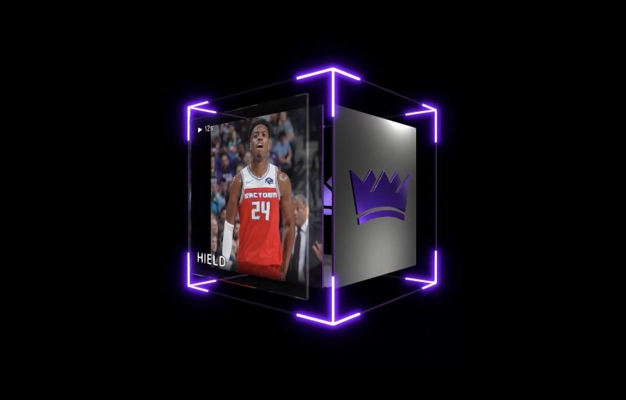 """There's a @buddyhield Holo Series 1 reverse dunk over Mitchell Robinson... only 50 in existence and you will never see Buddy do that again. So get that while you can.""  @TyHaliburton22 said this 2 days ago, when its @nba_topshot lowest price was under $10k.  Lowest now? $25k."