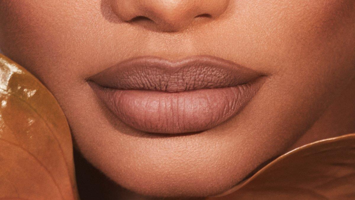 Today's lip combo - Honey 3 Lip Liner and Honey 2 Matte Lipstick.