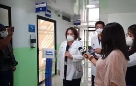 test Twitter Media - Ana Samayoa será la primera en recibir la vacuna Moderna en el Hospital Roosevelt. Desde el 2002 se encuentra laborando en dicho centro asistencial como infectóloga. https://t.co/zccjbhJa3g
