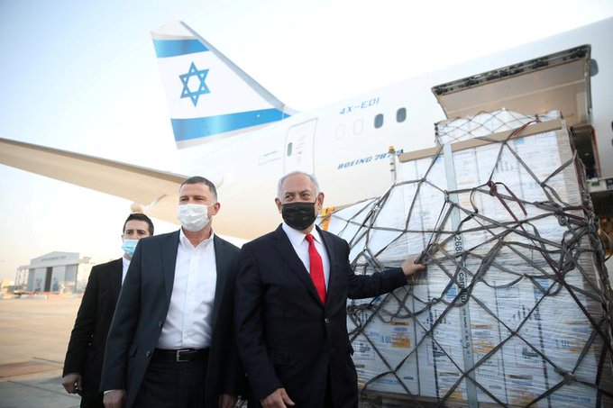Israel freezes programme to send vaccines abroad, defence minister says Photo