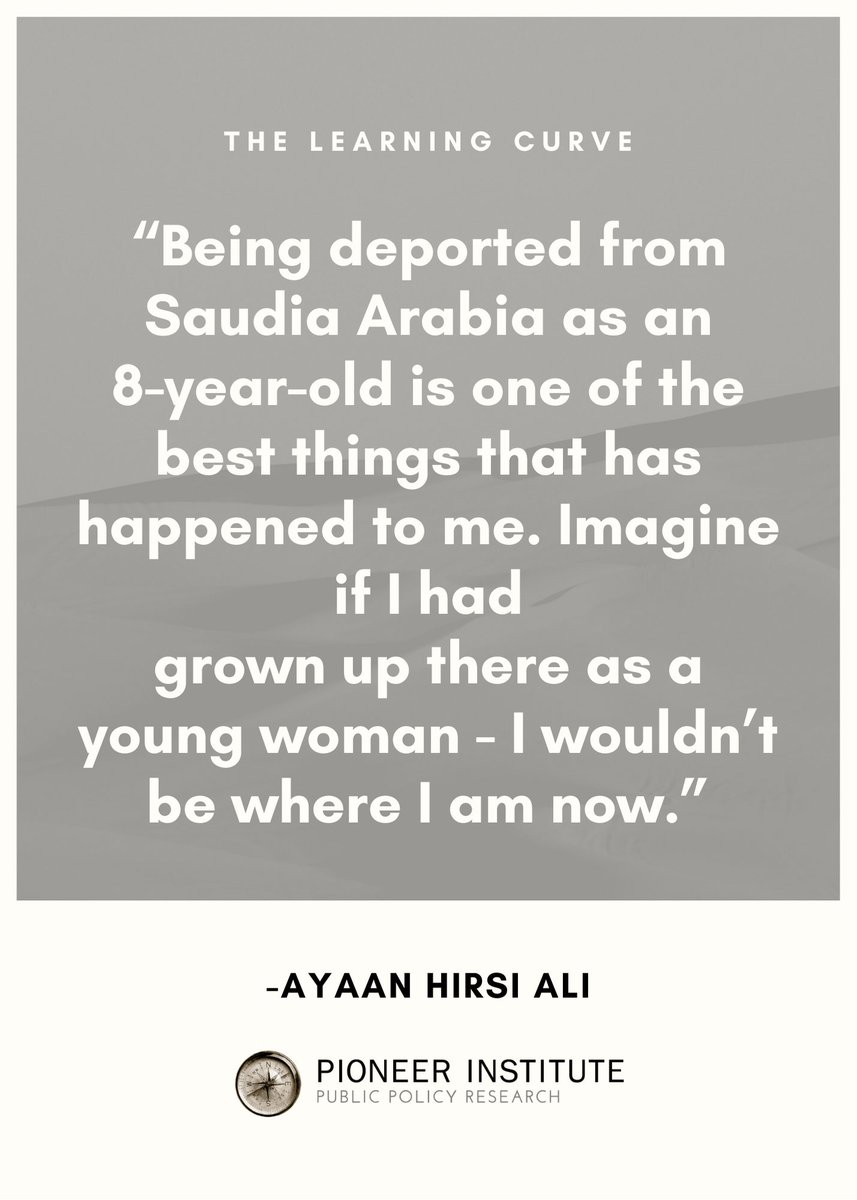 Research fellow at @HooverInst, @Ayaan, shares insights from her upbringing and early #education in Somalia, Saudi Arabia, and Kenya. Tune in!