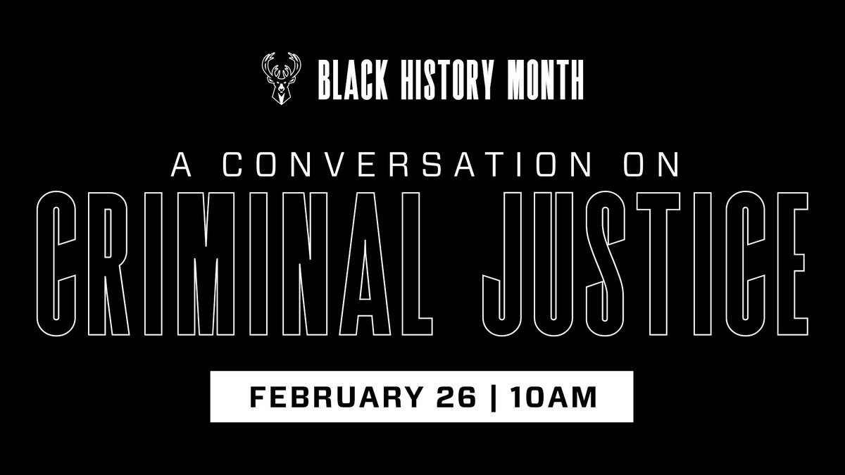 Replying to @Bucks: Join us at   #BHM