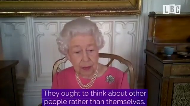 """It was quite harmless... it didn't hurt at all.""  The Queen has urged those worried about getting vaccinated against Covid to ""think about other people rather than themselves"".  Read more here:"