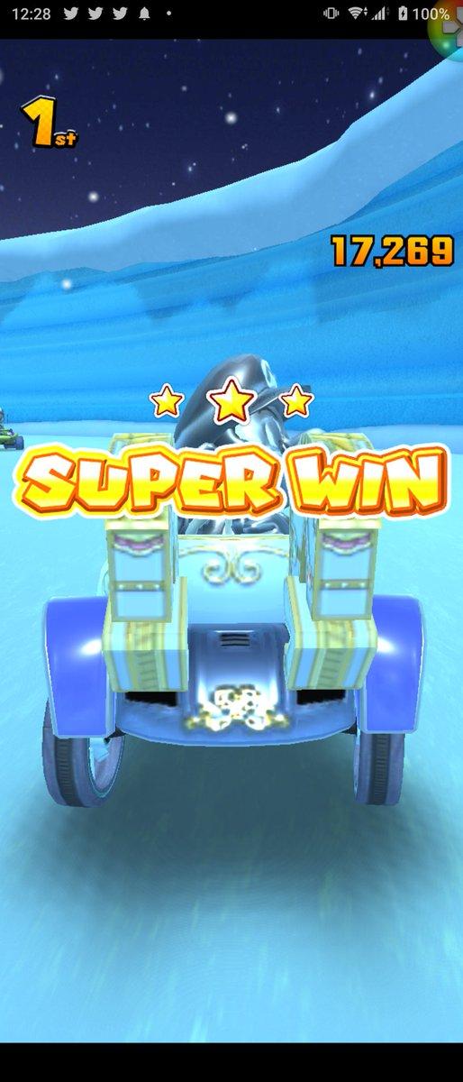 test ツイッターメディア - #マリカツ #マリオカートツアー #MarioKartTour  SUPER WINキタ━(゚∀゚)━! https://t.co/9Ecy4ujA9N