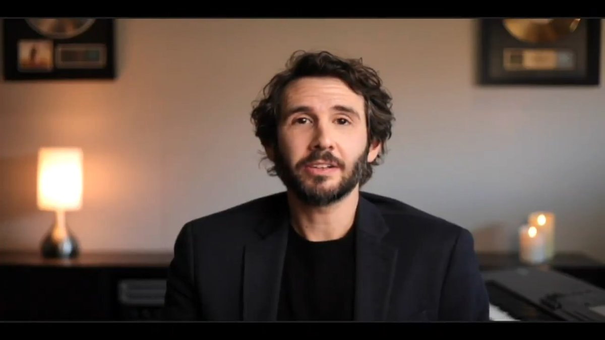 """Singer-songwriter @JoshGroban on the #FreeBritney movement: """"I'm all for it!"""" #WWHL"""