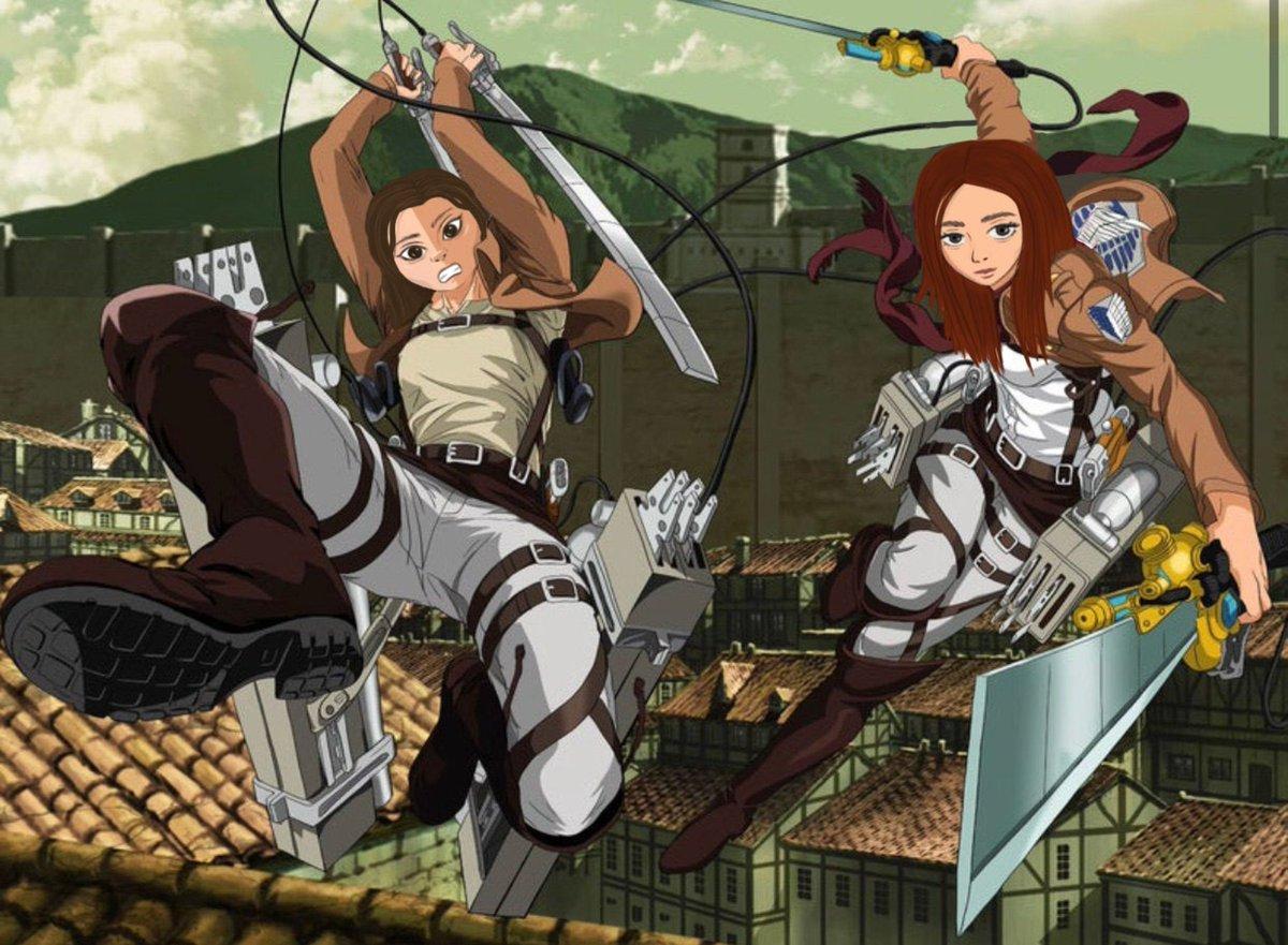 Custom Attack On Titan Portrait #AttackOnTitan #portrait #anime