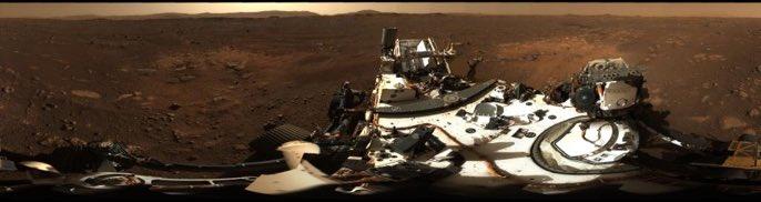 El equipo de cámaras detrás de la primera panorámica de alta definición que nuestro amigo @NASAPersevere capturado en la superficie de Marte dará un recorrido por las nuevas imágenes hoy, jueves 25 de febrero a las 4 pm ET. Detalles:https://t.co/vLwN4df3SO #CountdownToMars https://t.co/Wal5OsFNJH