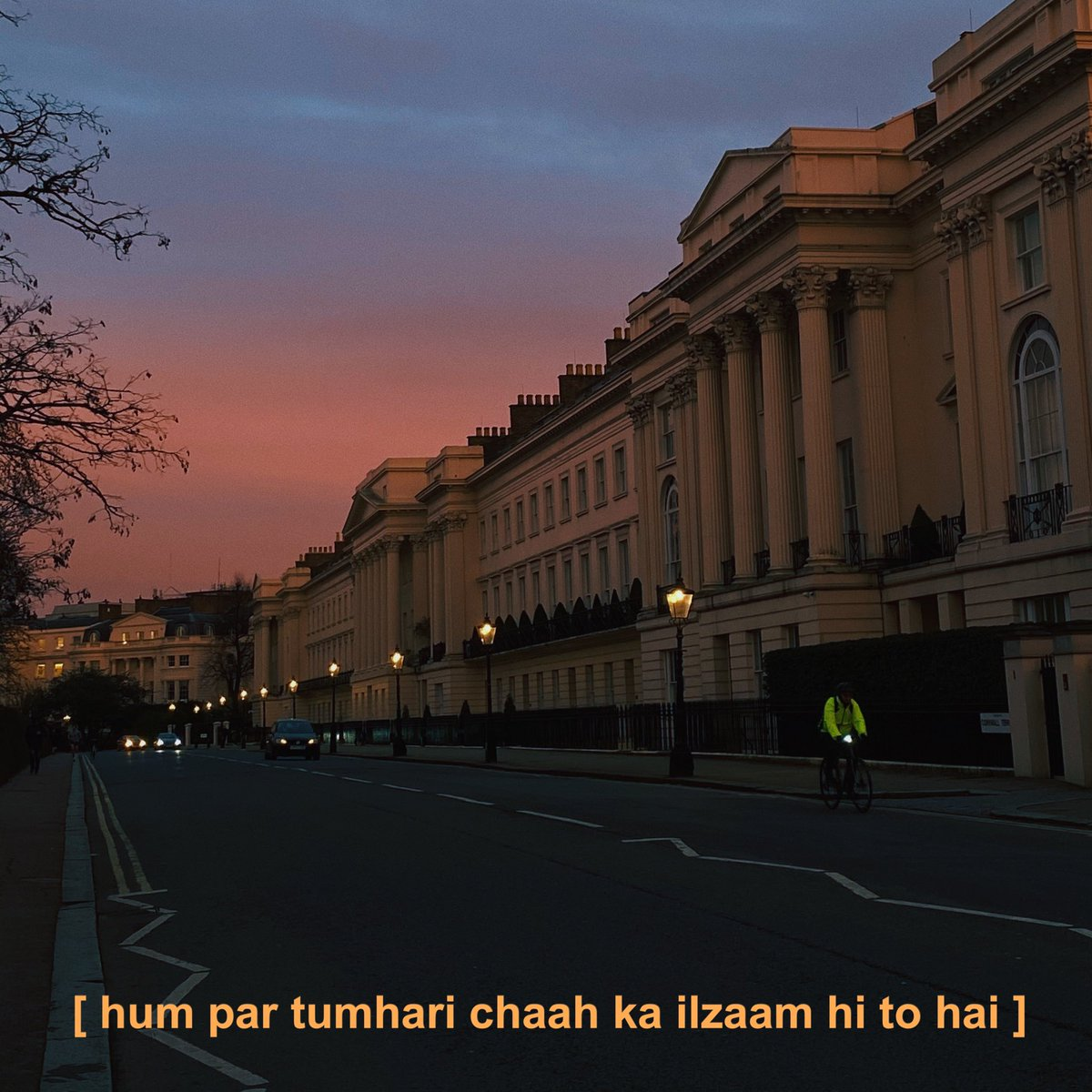 london sunsets and some of Faiz Ahmed Faiz 🌅