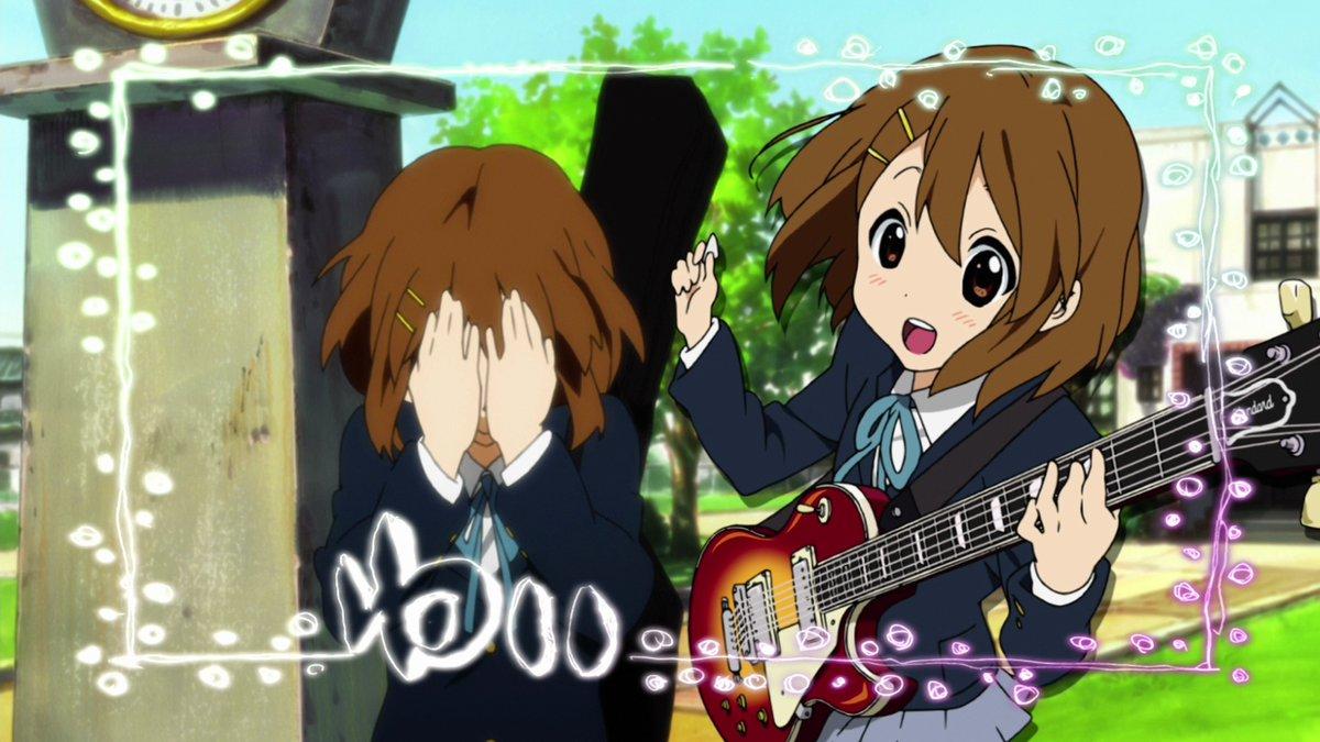 #けいおん #Anime Frame 2666 from Season 1 - Episode 8 『Freshmen!』.
