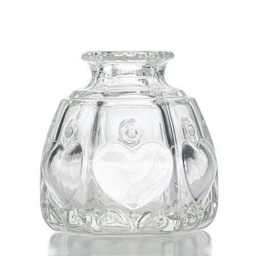 Transparent #glass reed diffuser bottle for #home #fragrance Support customer #design logo .